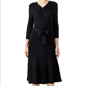 Kate Spade Black Wool Knit Dress